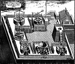 Ferdinand Verbiest - Instruments in the Beijing Observatory, some of them were built by Verbiest.