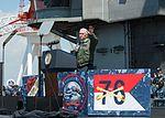 Vice President Michael R. Pence aboard USS Ronald Reagan 24.jpg
