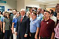 Vice President Mike Pence tours the National Hurricane Center in Miami (48135389051).jpg