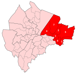 Victoria (District Electoral Area) one of the nine district electoral areas (DEA) in Belfast, Northern Ireland