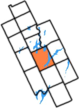 Fenelon Township - Fenelon Township within former Victoria County