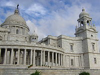 The Victoria Memorial, an icon of the British Raj and Kolkata.