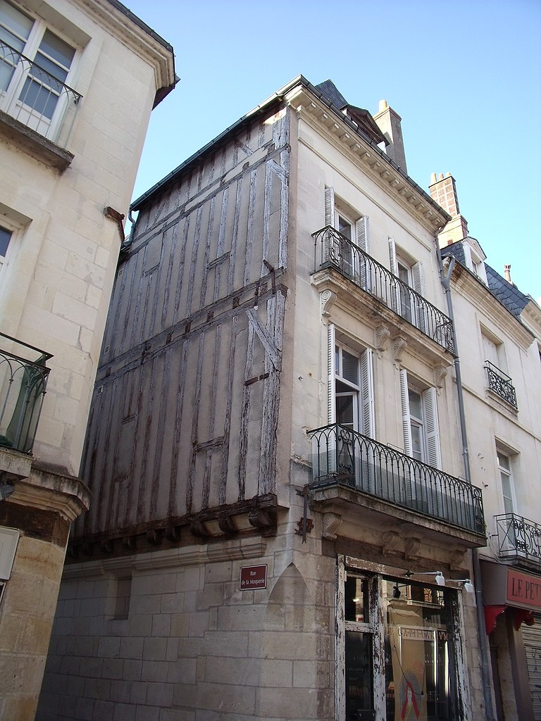 fichier vieux tours rue colbert maison 15 m avec fa ade 19 m si wikip dia. Black Bedroom Furniture Sets. Home Design Ideas