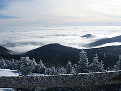View from the top of Killington Peak (4,241 feet (1,293 m))