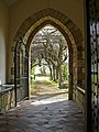 View from the porch of Goldcliff Parish Church - geograph.org.uk - 754599.jpg