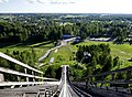 View from top of Vöyri ski jump hill.jpg