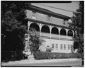 View north, south elevation - St. Peter's Convent, 88 Main Street, Danbury, Fairfield County, CT HABS CONN,1-DA,3-3.tif