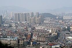 View of Lin'an City from Gongchen Hill, 2015-02-14.jpg