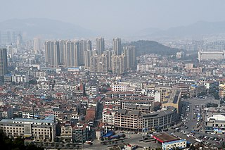 Linan District District in Zhejiang, Peoples Republic of China