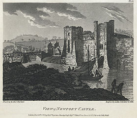 View of Newport Castle
