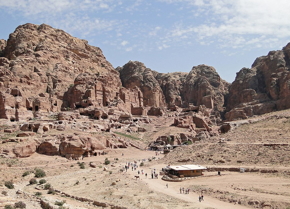 View of Petra