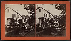 View of a home in Essex, N.Y, by E. M. Johnson.jpg
