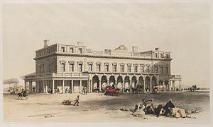 David Mocatta - Mocatta's station at Brighton (1841)