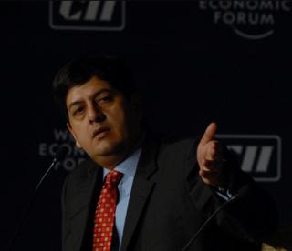 Vikram Chandra (journalist) Indian businessman and journalist