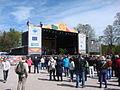 Villagefest2015stage.JPG