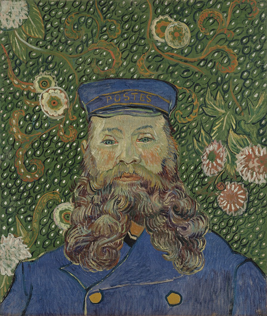 Vincent van Gogh Portrait of Joseph Roulin