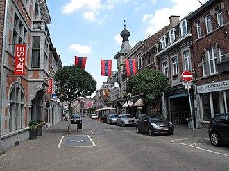 Visé - Image: Visé, straatzicht 2 foto 1 2010 07 11 11.26