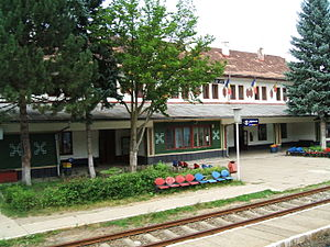 Vișeu de Jos - Vişeu de Jos train station