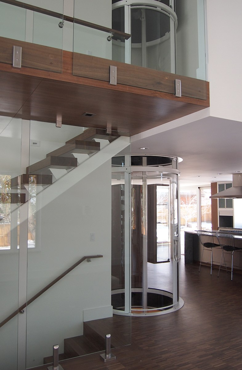 Visilift Visi-58 Round Residential Elevator