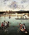 Vittore carpaccio, caccia in laguna, 1490-1495 ca, getty museum.jpg