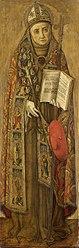 Vittore Crivelli: St. Bonaventure, pendant to St. Louis