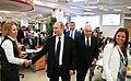 Vladimir Putin visited the Rossiya Segodnya International Information Agency (2016-06-07) 04.jpg