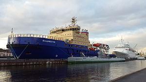 Vyborg Shipyard - Image: Vladivostok icebreaker