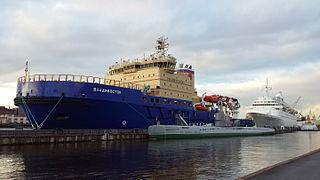 Russian icebreaker