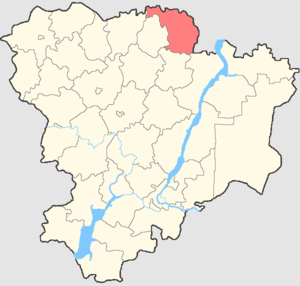 Zhirnovsky District - Image: Volgogradskaya oblast Zhirnovsky rayon