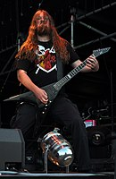 Vomitory, Urban Gustafsson at Party.San Metal Open Air 2013 03.jpg