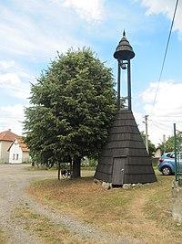 Vrbětice (Vlachovice), zvonice.jpg