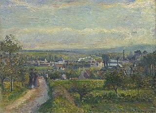 View of Saint-Ouen-l'Aumône