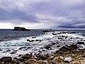 Vue sur le phare du Four depuis la presque ile Saint Laurent.jpg