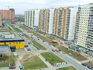 Vykhino-Zhulebino District District in Moscow, Russia