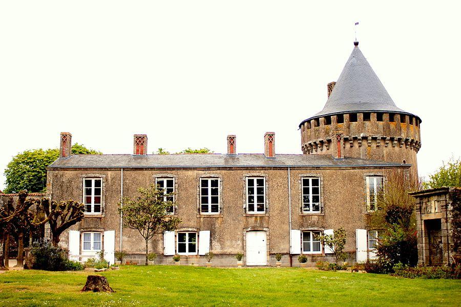 Logis du Château de l'Echasserie, Fr-85-La Bruffière.