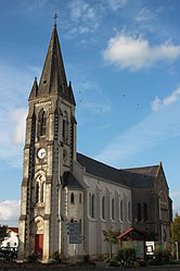 The church of Saint-Martin, in La Remaudière
