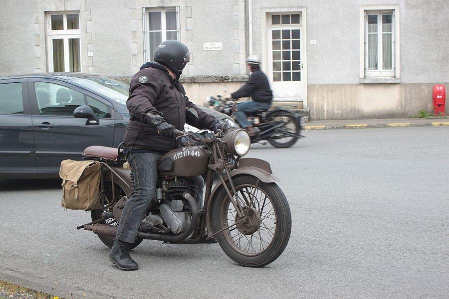 1946 BSA M20 motorcycle