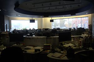 WGBH-TV - WGBH newsroom.