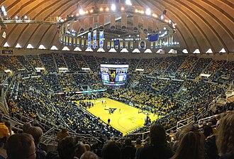 WVU Coliseum - Image: WVU Coliseum 2017