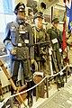 WW2 Norway. German uniforms Luftwaffe NCO communication Nachrichten, Gebirgsjäger, MP40, bomb debris, MG34 etc Lofoten Krigsminnemuseum 2019 0134.jpg