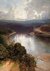 An Australian fjord