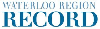 Waterloo Region Record - Image: W R Record masthead