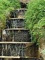 Wałbrzych, zamek - wodospad przy zamku.JPG