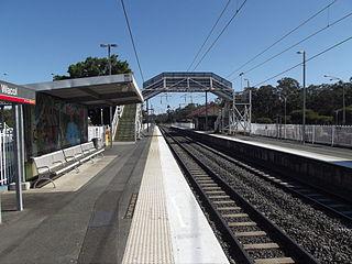 Wacol railway station Railway station in Brisbane, Queensland, Australia