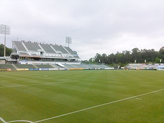 WakeMed Soccer Park - East Stand Of Renovated Stadium in 2014