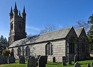 Walkhampton church