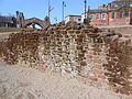 Wall at the Roman amphitheatre, Chester (4).JPG