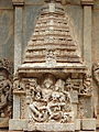 Wall relief sculpture in Brahmeshvara Temple at Kikkeri.jpg