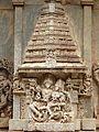 Wall relief sculpture in Brahmeshvara Temple at Kikkeri.jpg
