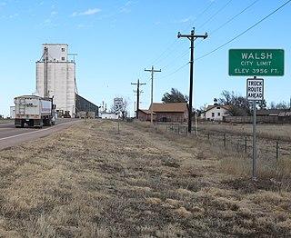 Walsh, Colorado Town in Colorado, United States